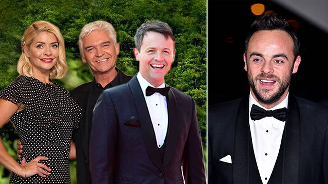 Ant McPartlin has been left out of the I'm A Celeb WhatsApp group