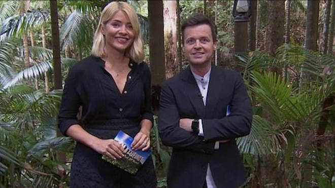 Loud breathing was heard instead of Holly and Dec due to a technical glitch