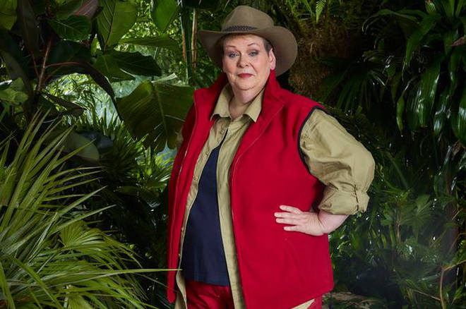 Anne Hegerty, 60, was the fifth celeb to leave the camp