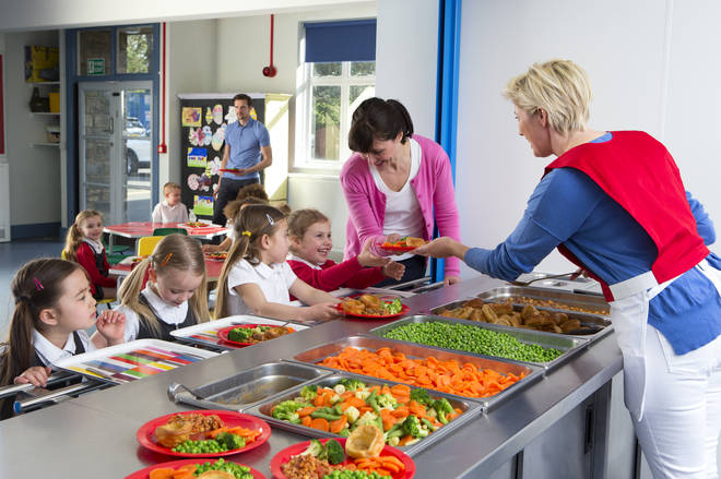 Most primary schools serve a Christmas dinner for pupils
