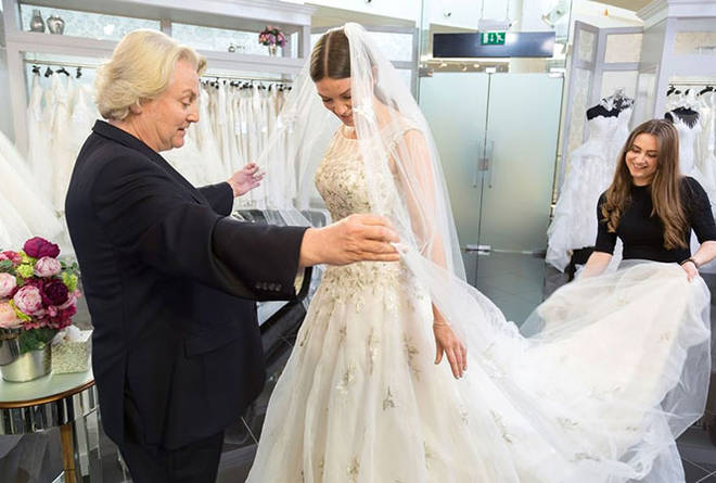 David Emanuel works his magic on the UK Say Yes To The Dress