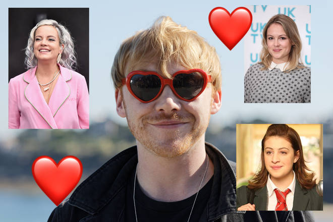 Rupert Grint has been linked to Lily Allen and Kimberley Nixon