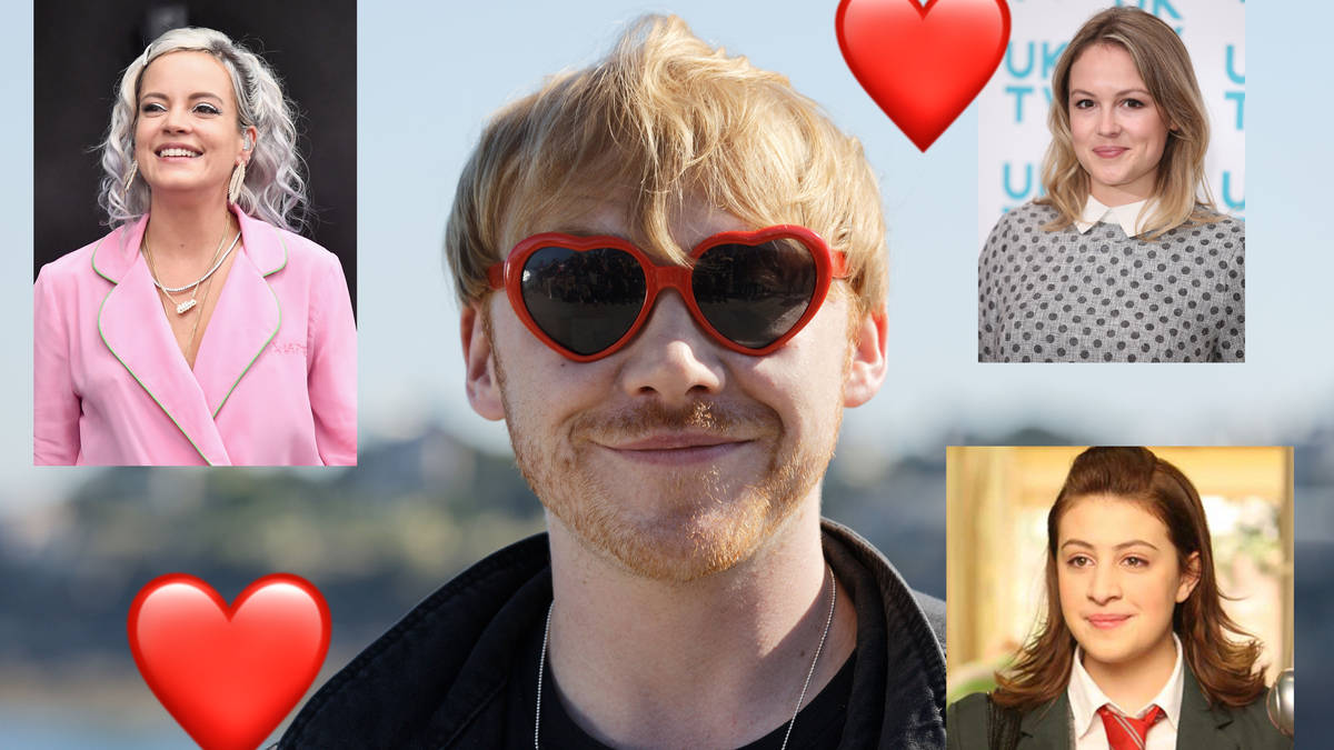 Angus Thongs And Perfect Snogging Cast rupert grint girlfriend: a timeline of his dating history