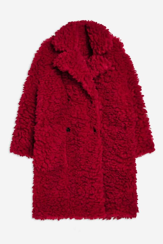 Big Borg Coat - Topshop - £85