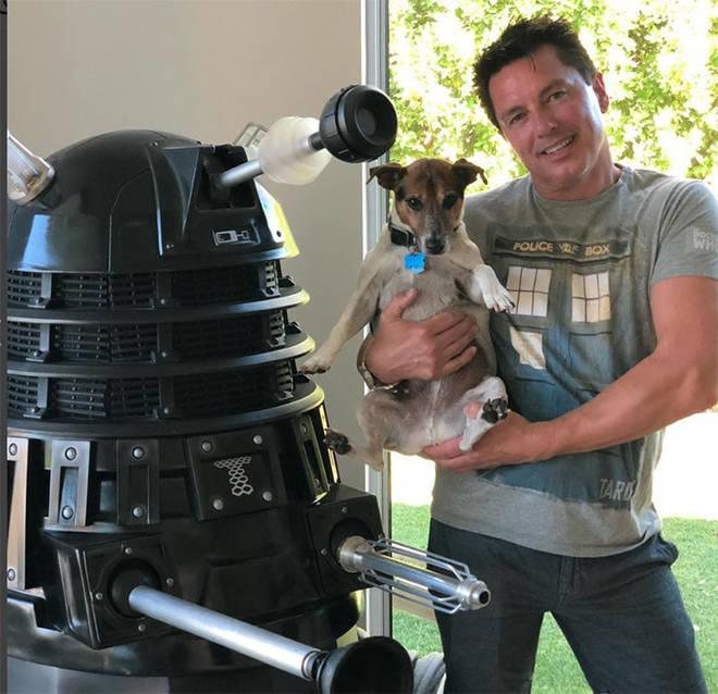 John also has a lifesize Dalek
