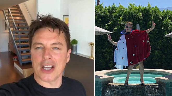 John Barrowman has two beautiful homes in America