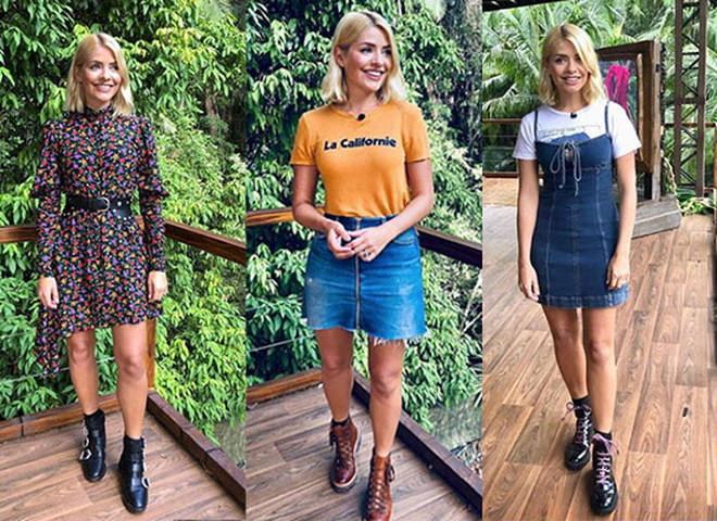 You can get Holly's best jungle looks for less on the high street