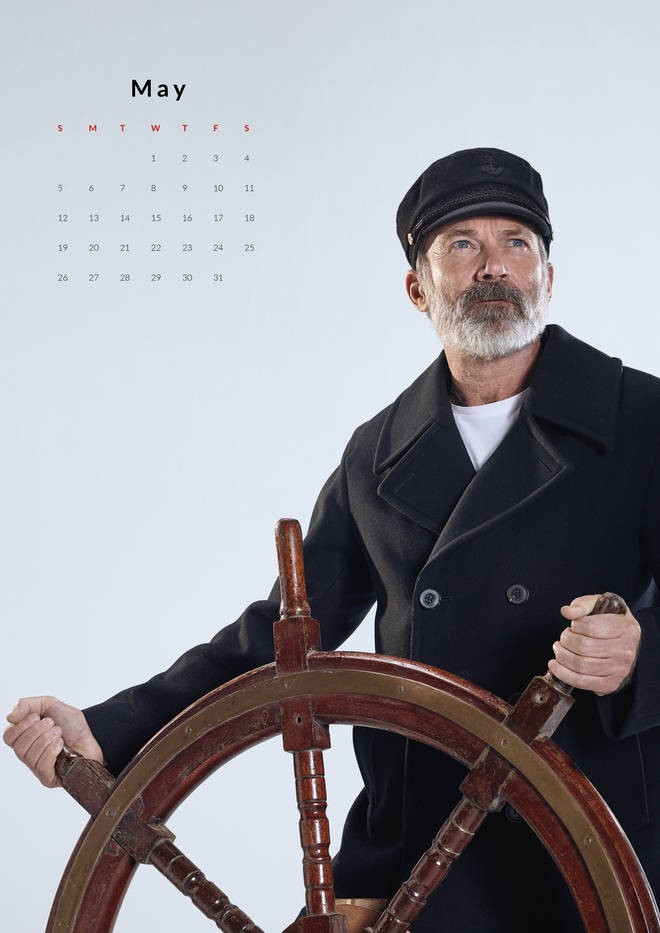 Captain Birds Eye in May