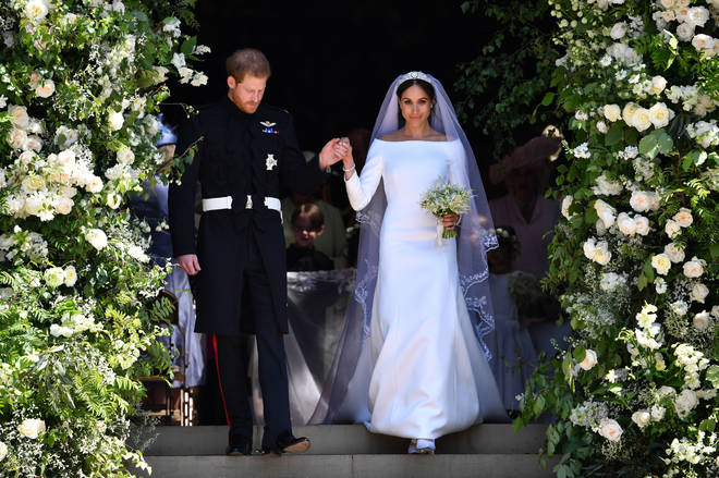 Meghan Markle stunned in Givenchy