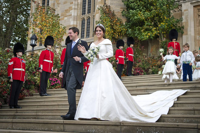 Princess Eugenie looked stunning on her wedding day
