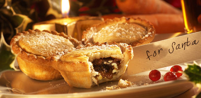Just one mince pie will require a hefty gym sesh to burn off