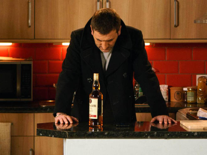 Peter's alcoholism has been at the centre of several huge storylines