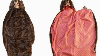 The life-like sleeping bag design doesn't come cheap...