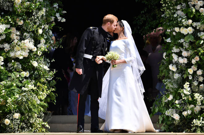 Meghan and Harry married on May 19th 2018