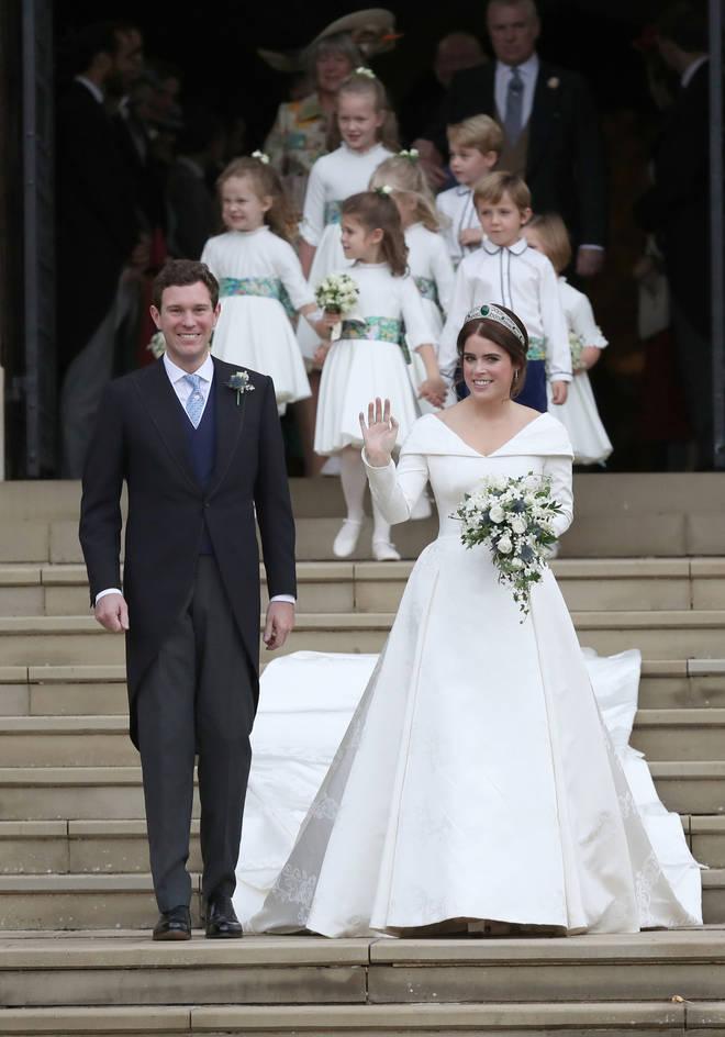 Princess Eugenie married Jack Brooksbank in Windsor