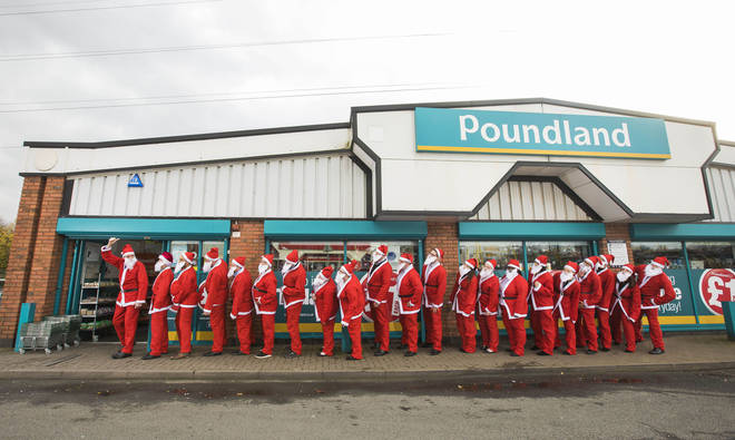 Poundland are offering pre-wrapped Christmas gifts