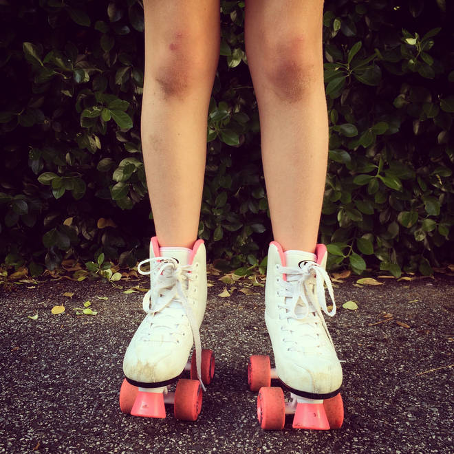 There is a tradition in Venezuela that sees people roller-skate to church
