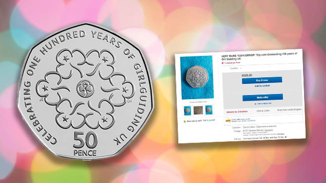 The Girl Guiding 50p is the latest coin people are checking their purses for