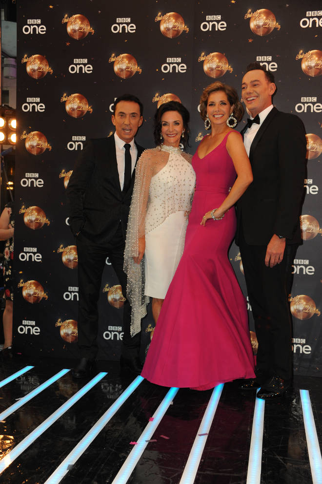 Judges Craig Revel-Horwood, Darcey Bussell, Shirley Ballas, Bruno Tonioli have their work cut out for them picking a winner