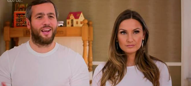 Sam Faiers and Paul Knightley can't agree on what is best for their son