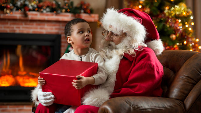 Health experts are warning against forcing a child to sit on Santa's knee