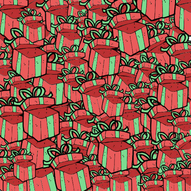 Hunt the purse amongst the presents!