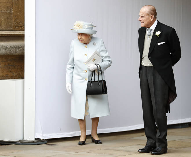 The Queen and her husband the Duke of Edinburgh