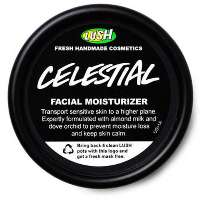 Lush's Celestial range is entirely vegan