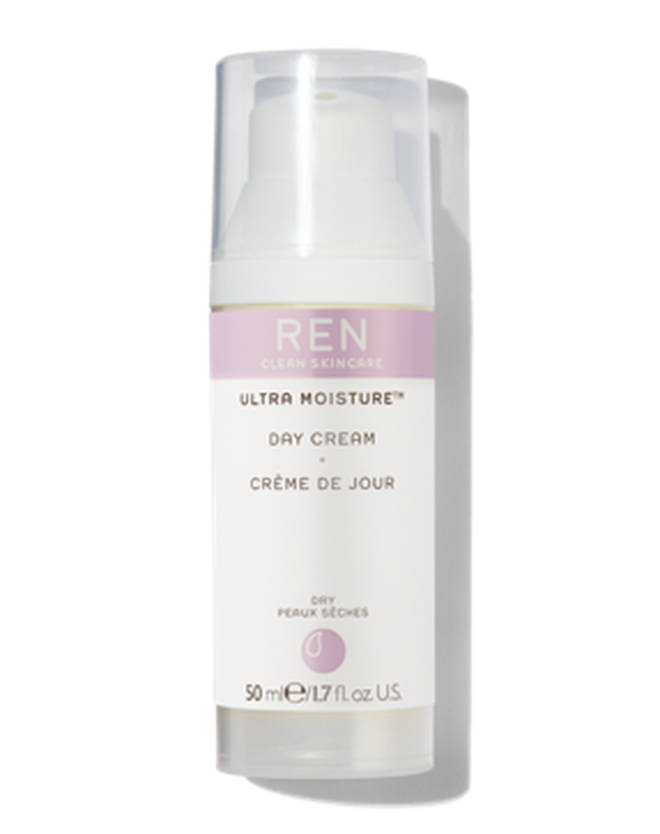REN's Ultra Moisture Day Cream is vegan and cruelty-free