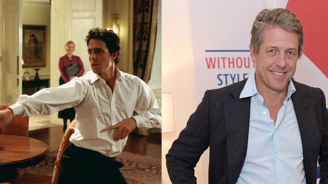 Hugh Grant played David the Prime Minister