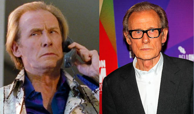 Bill Nighy played Billy Mack in Love Actually