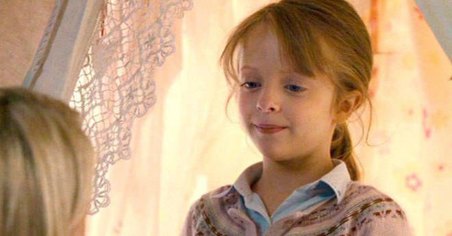 Sophie was played by seven year old Miffy Englefield