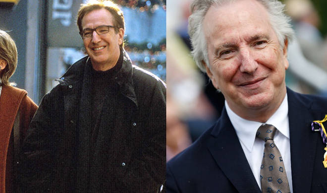 Alan Rickman played Harry in Love Actually