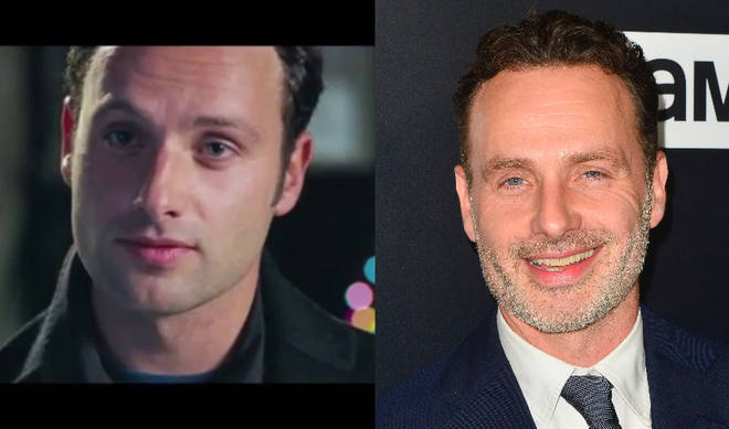 Andrew Lincoln played Mark in Love Actually