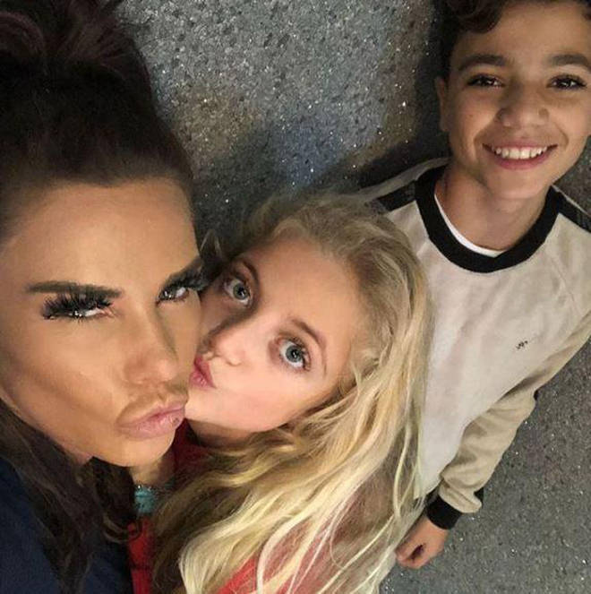 Katie Price and kids