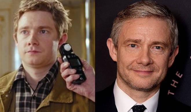 Martin Freeman played John in Love Actually