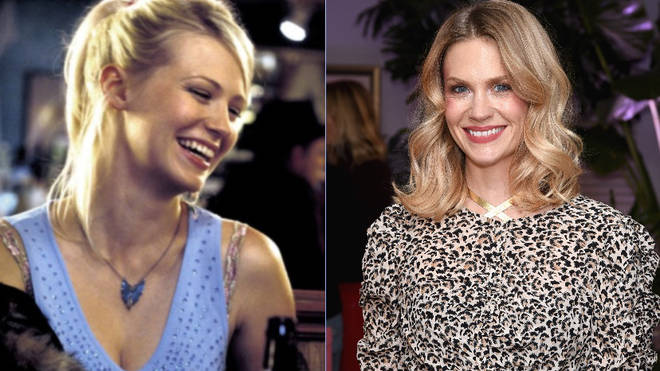 January Jones played Jeanie in Love Actually