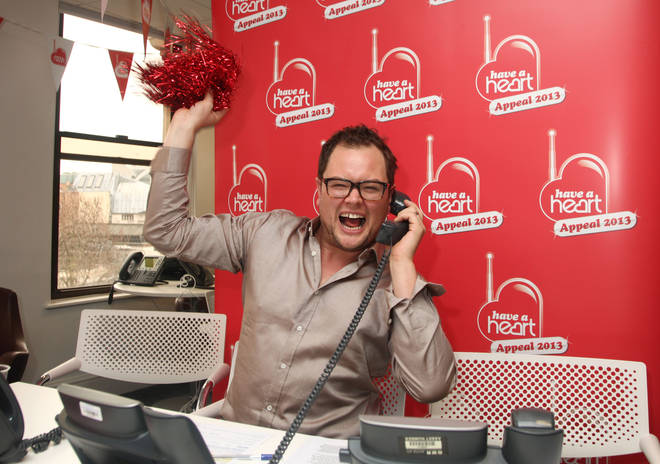 Alan Carr pictured at Heart in 2013 for a charity event