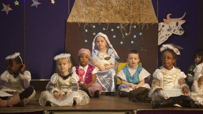 Parents are warned against uploading group shots of nativity plays
