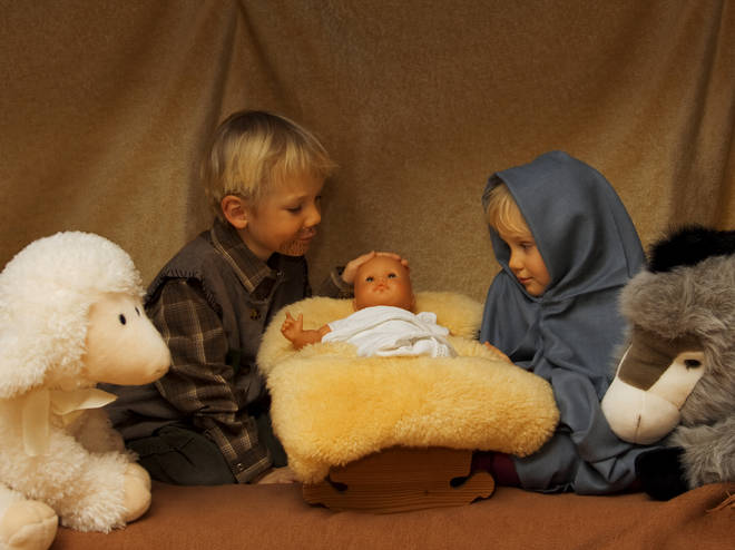 Parents are urged to be wary of uploading nativity shots containing other children