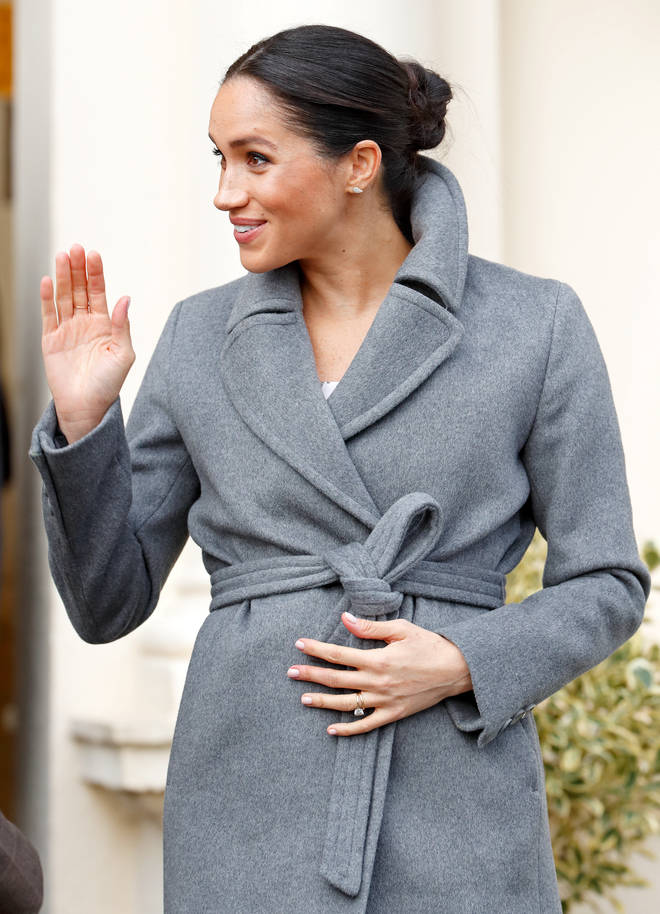Meghan Markle is expecting a baby next Spring