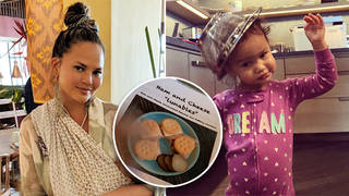 Chrissy Teigen has devised a 'toddler menu'
