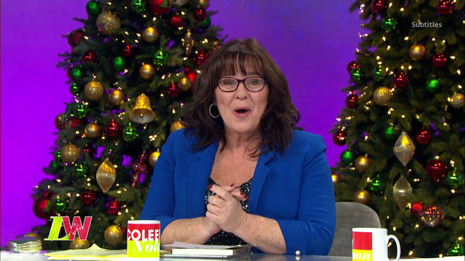 Coleen will spend Christmas with her ex-husband Ray
