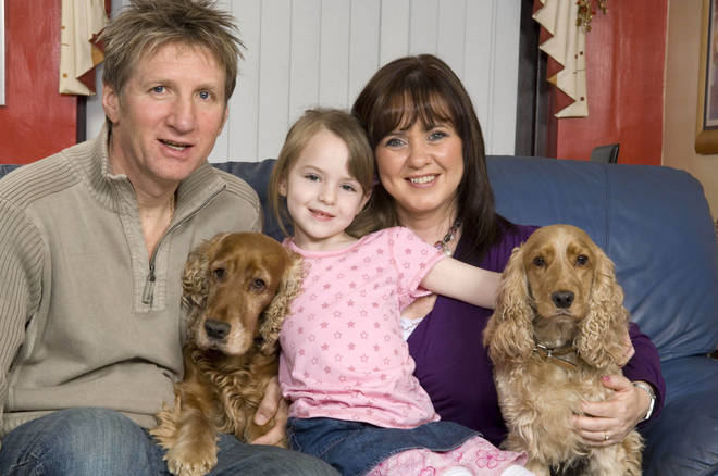 Coleen with Ray and her daughter Ciara