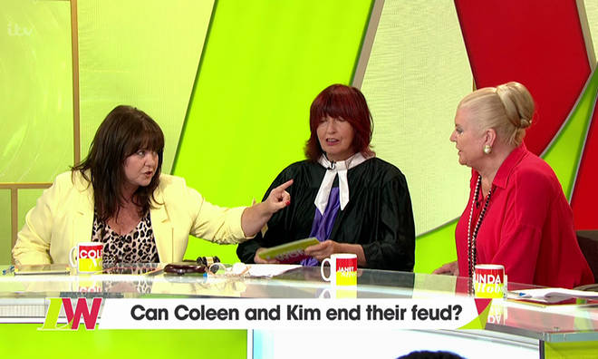 Coleen clashed with Kim Woodburn back in August