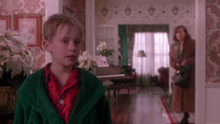 Home Alone fans can't help but notice the colour scheme