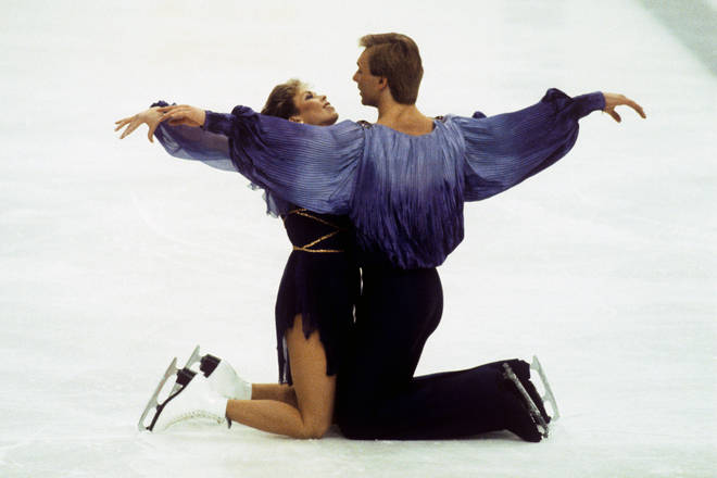 Torvill and Dean perform Bolero at the 1984 Winter Olympics in Sarajevo, Bosnia and Herzegovina