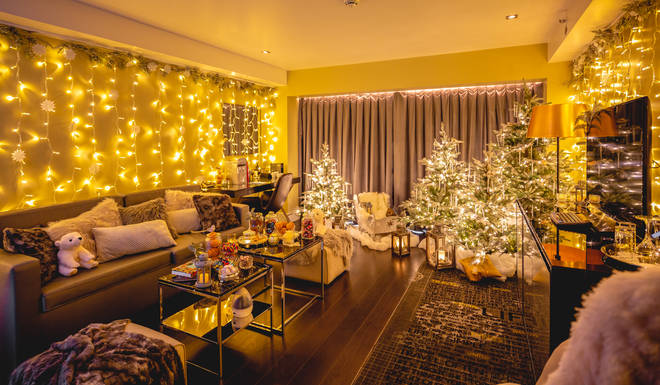 The Christmas suite at the Park Plaza is a joy for the senses
