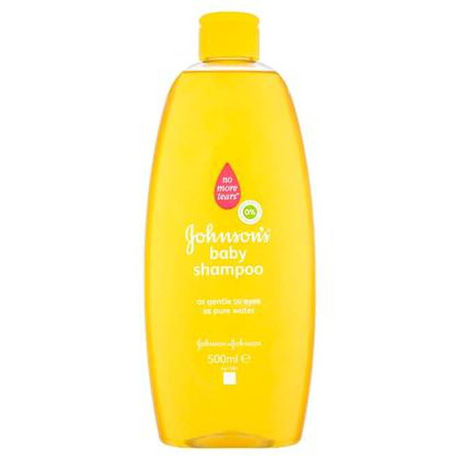 Johnsons Baby Shampoo is mild enough to keep your makeup brushes clean and happy