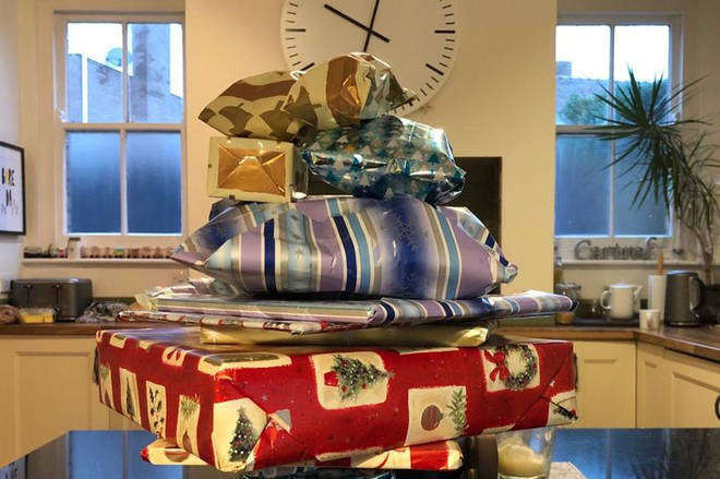 Ken Watson left 14 years worth of presents for young Cadi